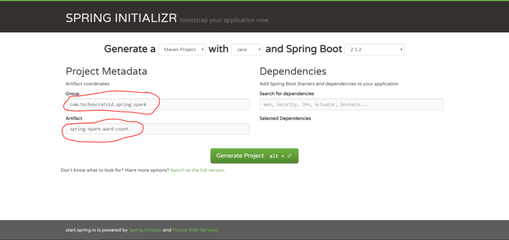 Spring Boot + Apache Spark – TechnocratSid Blogs